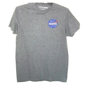 NASA shirt size S grey and blue